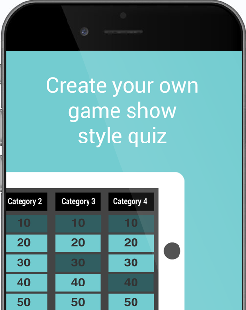 Create Your Own Game Show