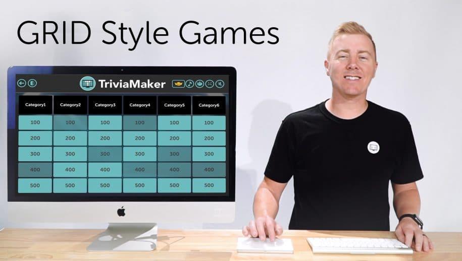 Create Grid Style Quiz : TriviaMaker