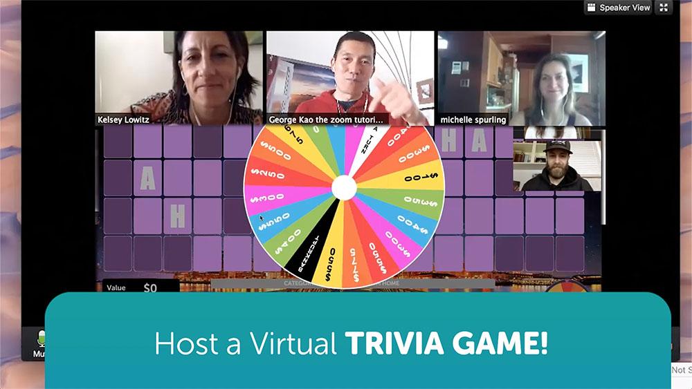 Custom Trivia Quiz On Zoom Using TriviaMaker