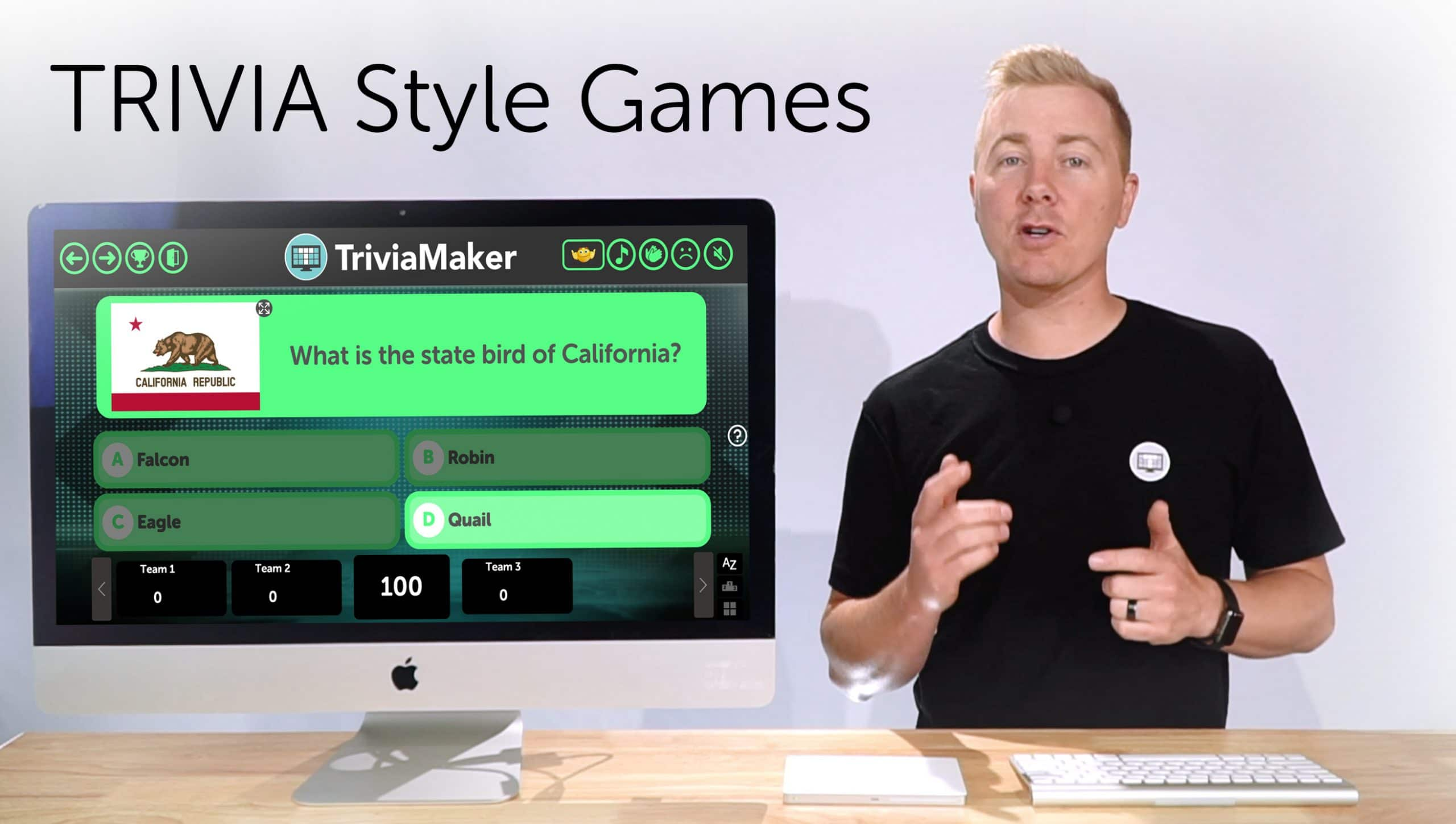 Create Custom Trivia Style Game