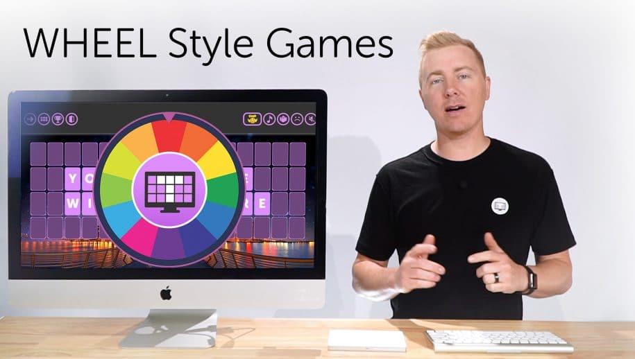 Create Custom Wheel Style Game : TriviaMaker