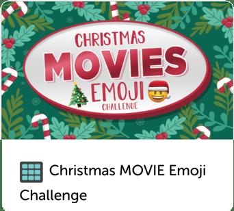 Christmas movie emoji challenge trivia quiz